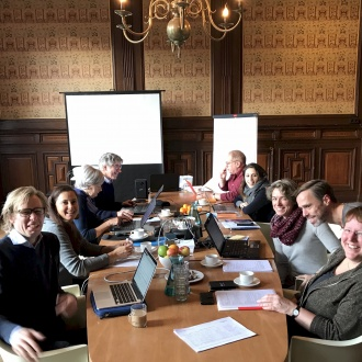 Project team at work in Utrecht